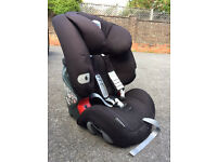 Britax car seat black - used but in good conditions