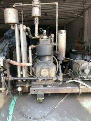 Vintage Antique Curtis Shop Compressor 3ph Curtis 33512