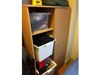 Free kids wardrobe, and desk/bookshelf unit