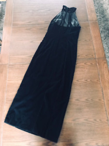 Custom made Velvet Dress xsmall and Shoes size 6 1/2-7