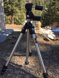 Manfrotto 055PRO Tripod and 141 RC Head for Sale