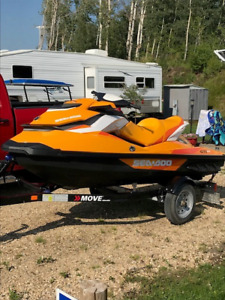 2017 Seadoo GTI SE 900 HO Ace, Cover and trailer