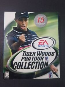 Tiger Woods PGA Tour Collection CD-ROM Classics (PC Game) SEALED