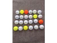 100 x Recycled Golf Balls - Titleist/Callaway/Bridgestone/Srixon/Nike/Taylormade