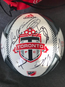 TFC MLS Cup 2017 Championship Autographed Ball - with COA