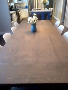 Harvest Table - Rustic Dining Table