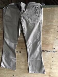 women's grey pants
