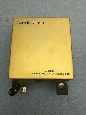 Lam Research .2 Meter Monochromator Detector Verity Ep200mmd Used