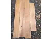 REAL SOLID OAK WOOD FLOORING 10MSQ