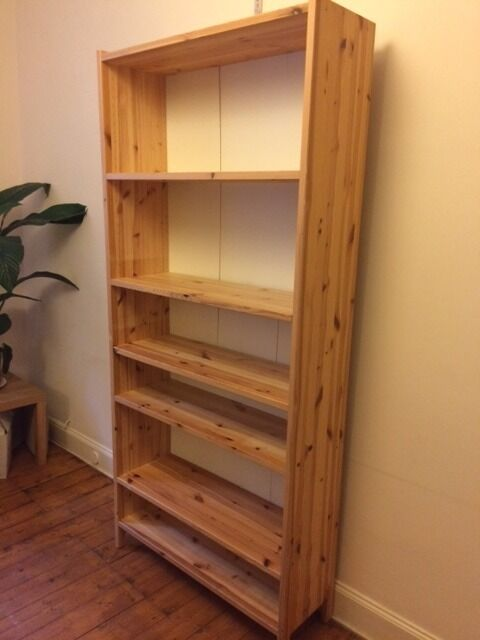 Large Pine Bookcase For Rox 200cm X 90cm