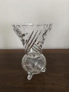 Cut crystal vase Gladesville Ryde Area Preview