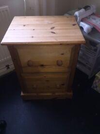 2 draw cabinet