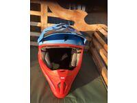 Thor Motocross Helmet- Large