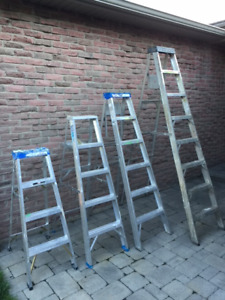 4 Ladders FOR SALE.  $50 each or $150 for all 4