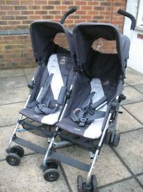 Maclaren Twin Triumph Double Buggy/Stroller