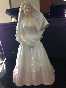 ROYAL DOULTON-THE BRIDE-1955 HN2166