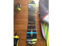Nidecker Score 157 snowboard - only 3 days use!