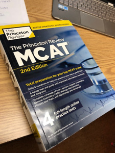 The Princeton Review Complete MCAT book New