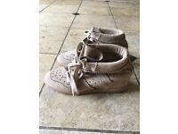 Isabel Marant Suede Wedge Bobbi Shoes