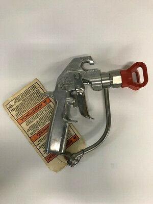 Graco 235460 Silver Plus Airless Spray Gun 2 Finger Trigger Flat Tip