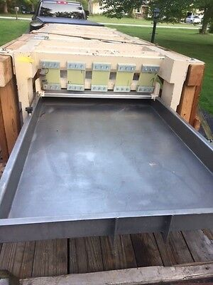 Meyer Vibratory Sifter 200 Long X 36 Wide Ss Contact Parts