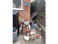 Roof tiles available free of charge but must be collected