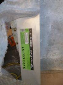 Plasterer/Carpenter Aluminium feather/straightedge