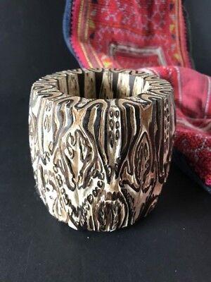 New Zealand Black Mamaku Ponga Tree Fern Vase (b) …beautiful display...