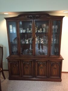 DINING TABLE CHAIRS CHINA CABINET-MOVING SALE ALL ITEMS MUST GO!