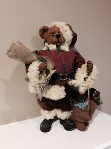 "Boyds bears 12"" Santa bear London Ontario image 1"