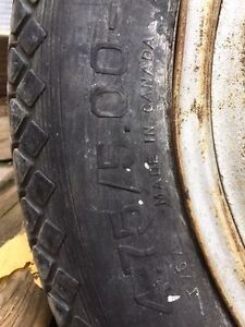 Vintage Dodge Truck Tire and Wood Rim Peterborough Peterborough Area image 5