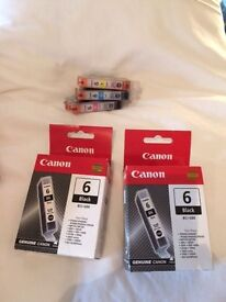 Canon Printers ink BCI-6BK, BCI-6M, BCI-6C, BCI-6Y