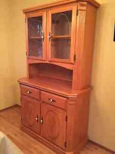 Oak Hutch sideboard