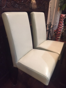 Parson dining chairs-white (2)