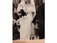 Wedding Dress - Rena Koh Designer Size 16 - Simular to Megan Merkels