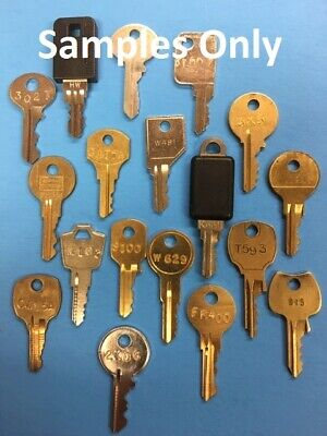 File Cabinet Keys Cut To Code For Haworth Knoll Yale Global Chicago Hirsh Hon