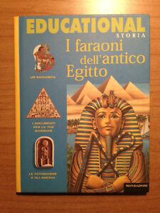 I-Faraoni-dell-039-antico-Egitto-G-Mauro-Educational-Storia-Mondadori-1998