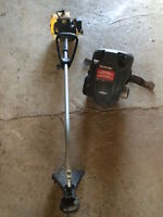 Gas Trimmer, Lawnmower Engine & A Lawn-Boy For Sale