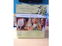 4 Wine Glasses Dartington Wine Debut Red (NEW) - HARROW
