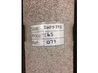 Awareness Carpet Remnant (2.60 x 3.95m) for £55 - REF: 079