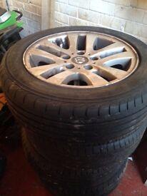 alloy wheel 5 stud 205/55/r16