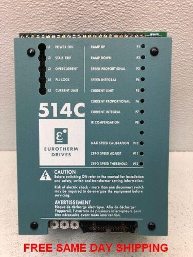 EUROTHERM DC POWER DRIVE 514C ITEM 748483-S1