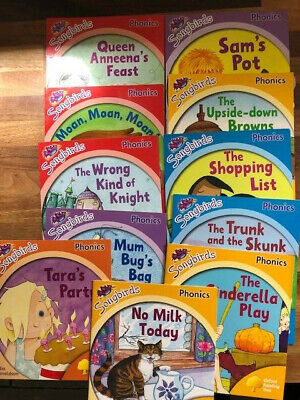 Songbirds childrens learning to read, bundle Phonic's, 22 books, Julia Donaldson