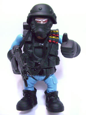 United States Special Force Team Blue Version Accessory 6 Inch Action Figure