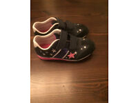 Girl Clarks Leather Trainers size 10.5 G