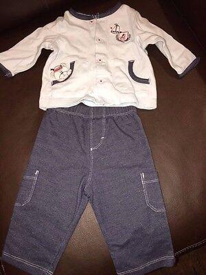 3 m Sailor bear outfit top pants VGUC baby boy - Cute Sailor Outfit
