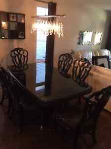 Premium Costa Del Sol Large Dining Set & Six Chairs London Ontario image 1