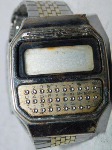 Vintage Pulsar Y739 Calculator Watch                No reserve