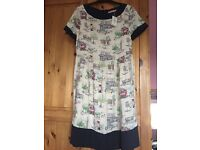 Cath Kidston Billie Goes to Town Dress size 6 (fits 6-8) Keynsham (can post)