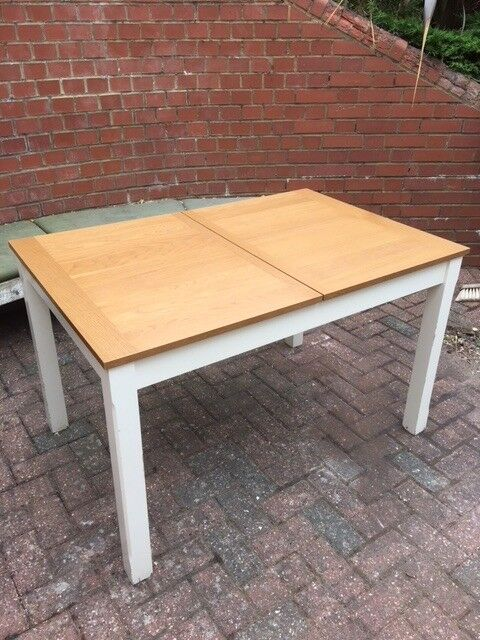 Homebase Solid Wood Extendable Kitchen Table In Harpenden Hertfordshire Gumtree